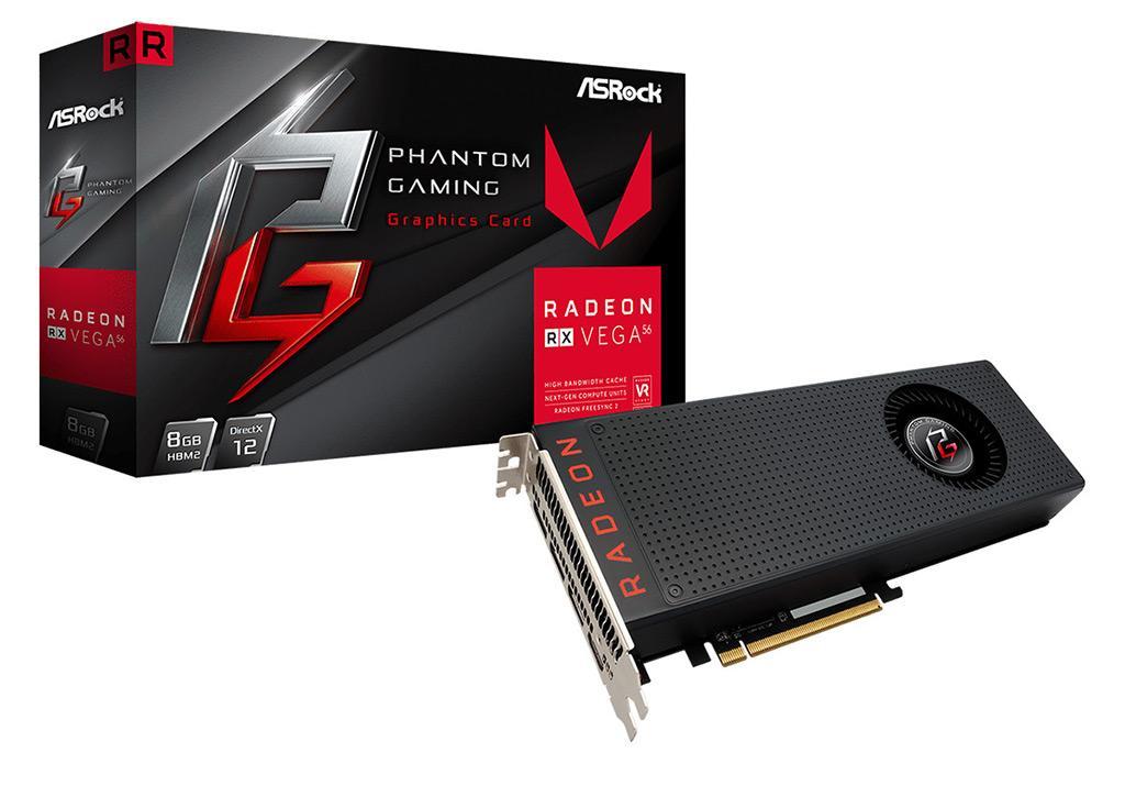ASRock Radeon RX Vega Phantom Gaming X 1
