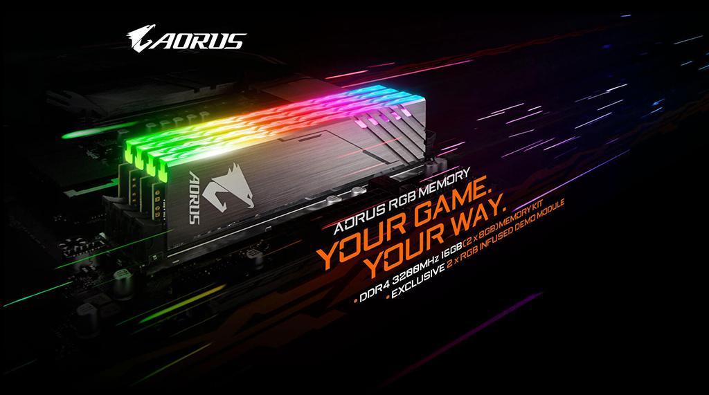 Gigabyte Aorus RGB Memory DDR4 3200 1