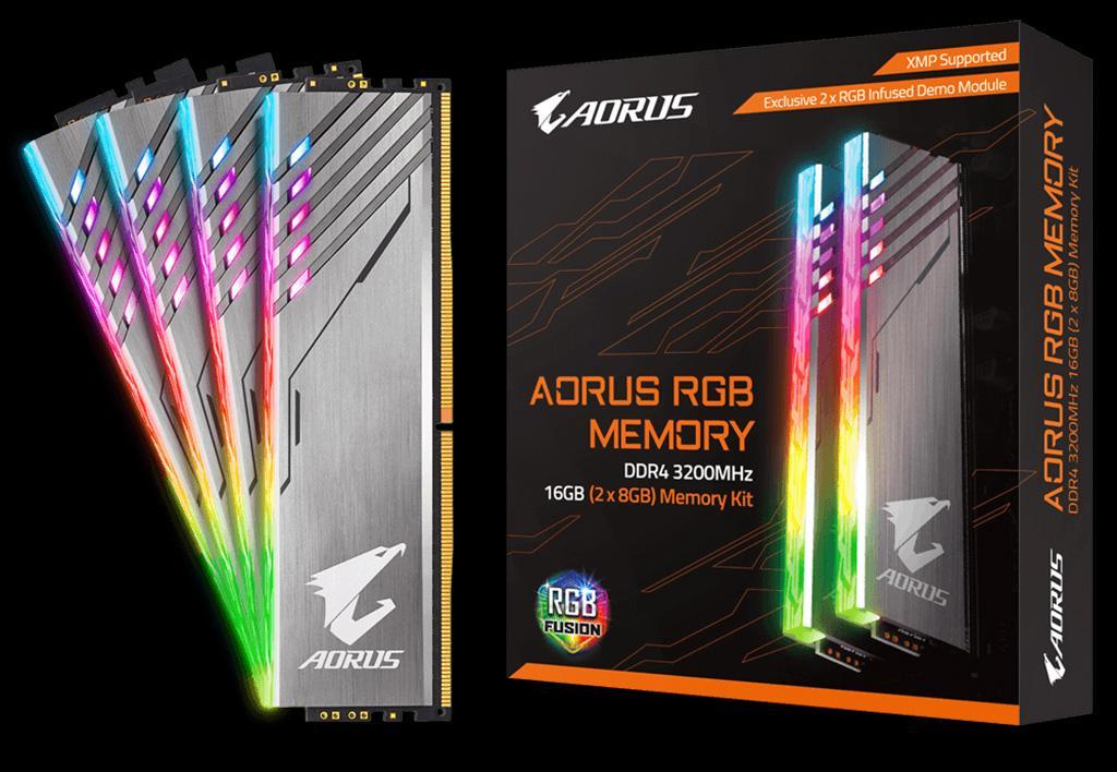 Gigabyte Aorus RGB Memory DDR4 3200 4
