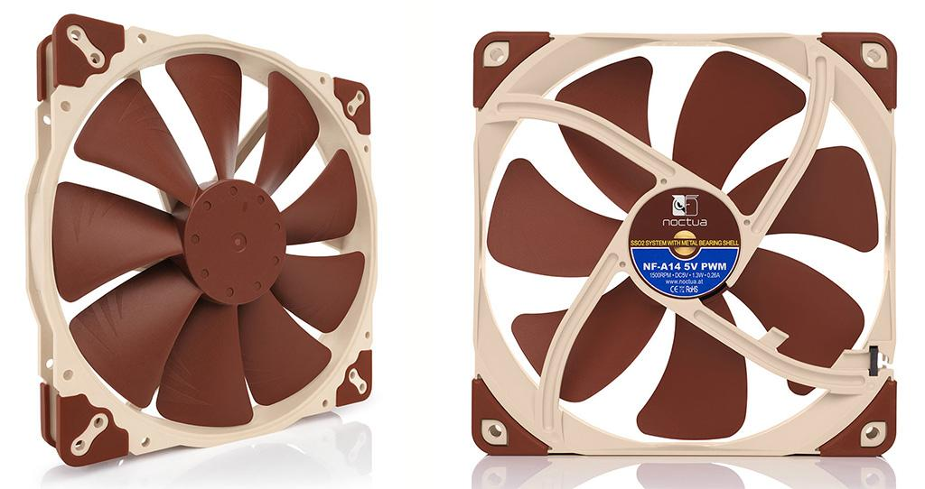 Noctua new 5V fan 3