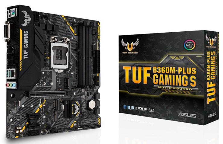 ASUS TUF B360M Plus Gaming S 1