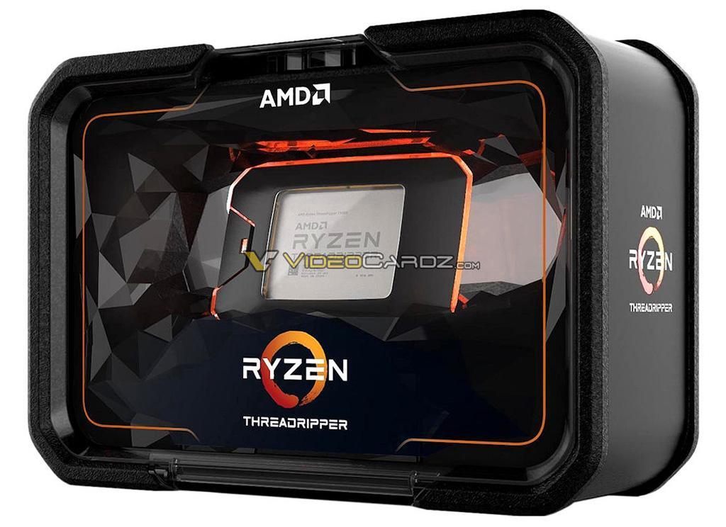 Рассматриваем упаковку процессоров AMD Ryzen Threadripper 2000