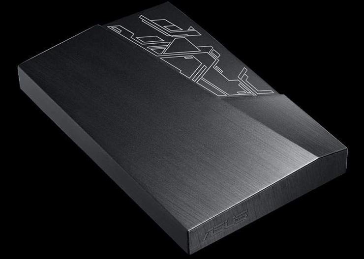ASUS FX External Hard Drive – внешний HDD с RGB-подсветкой