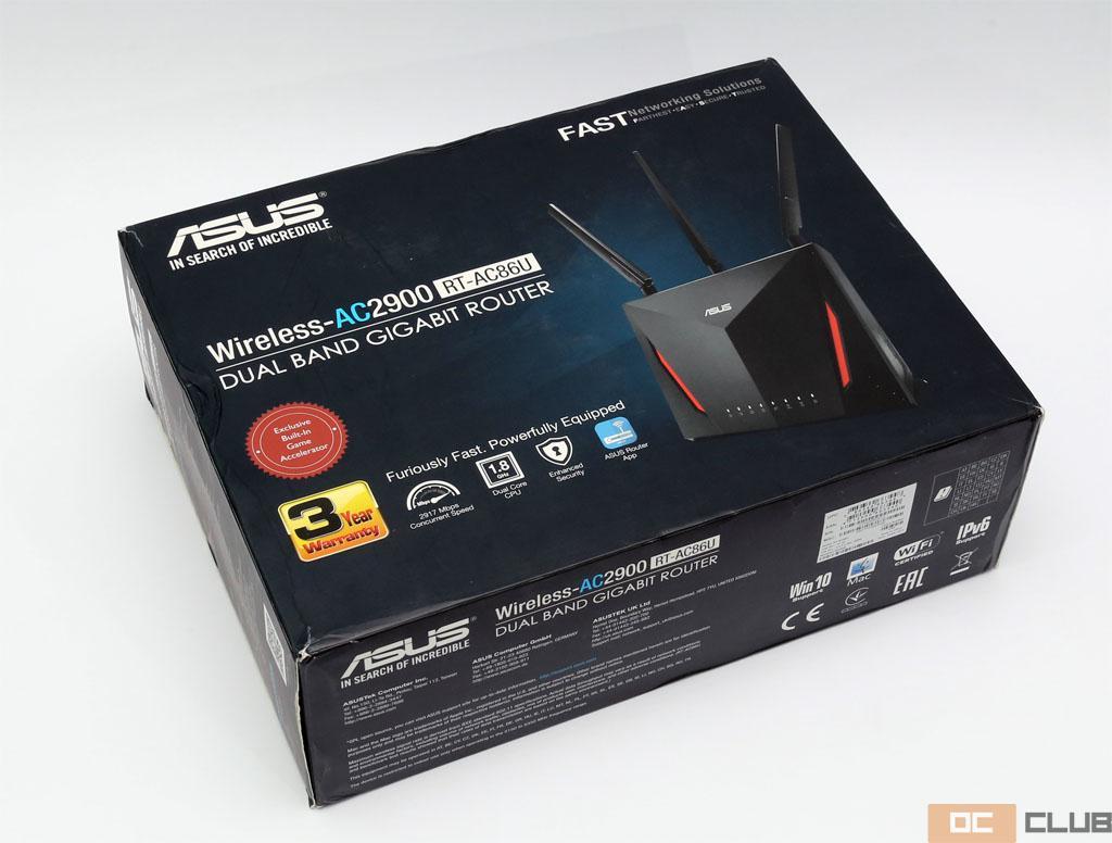 Обзор беспроводного маршрутизатора ASUS RT-AC86U (AC2900). Для самых густонаселённых геймерами районов