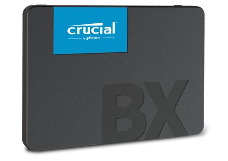 Crucial выпустила линейку доступных SSD-накопителей BX500. 480 ГБ за «полтишок»