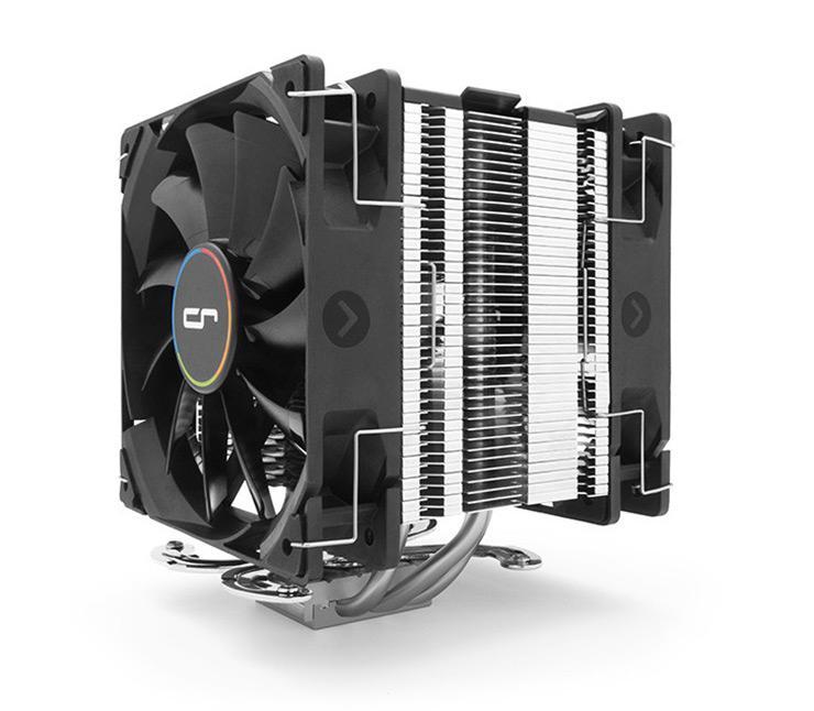 Cryorig модифицировала CPU-кулеры H7 и M9 двумя вентиляторами