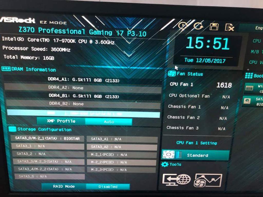 Intel Core i7-9700K разогнан до 5,55 ГГц