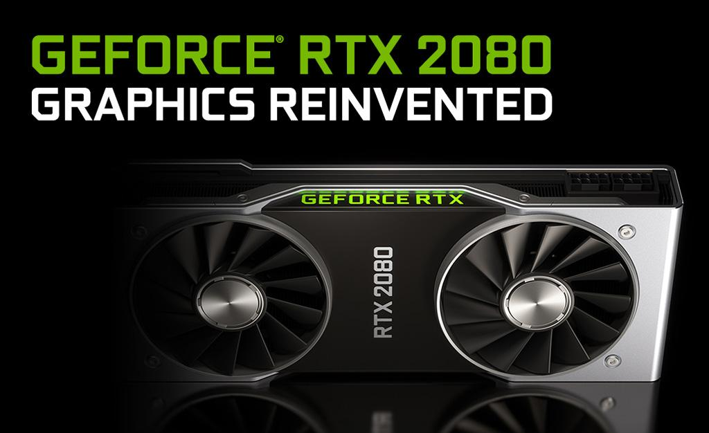NVIDIA GeForce GTX 1080 vs RTX 2080