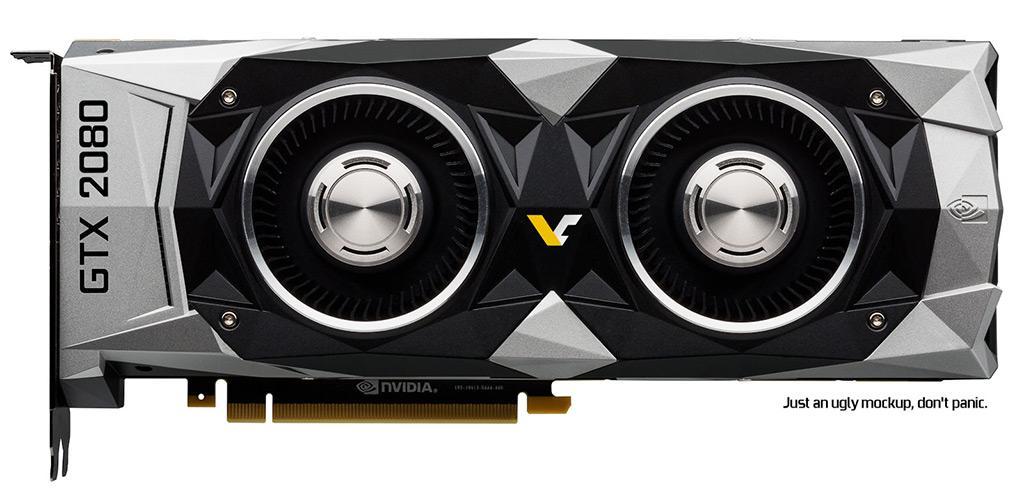 Слух: GTX 2080/1180 Founders Edition получит СО с двумя вентиляторами?