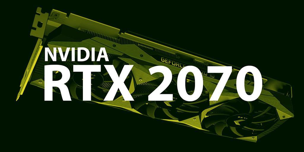 Предварительные характеристики видеокарты NVIDIA GeForce RTX 2070