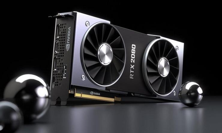 Результаты тестирования NVIDIA GeForce RTX 2080 в 3DMark TimeSpy