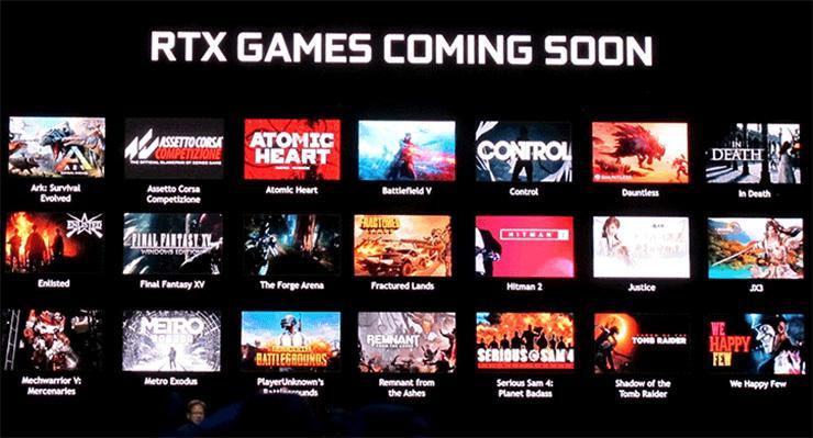 Назван список первых игр с поддержкой технологии NVIDIA RTX