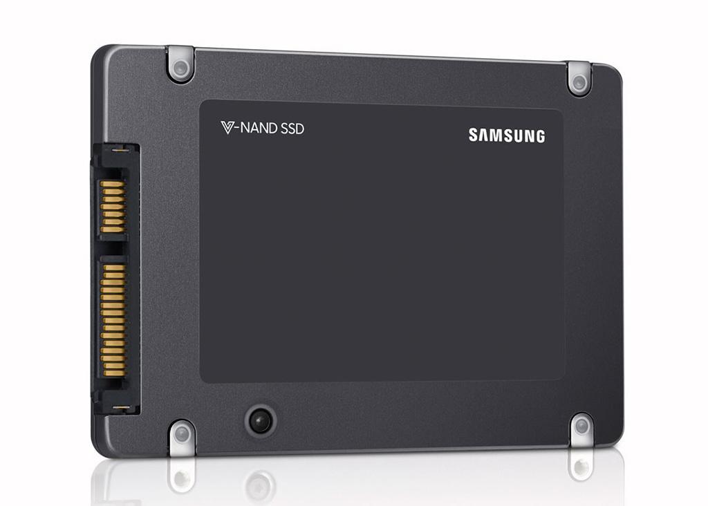 Samsung начала массово производить накопители на QLC-памяти