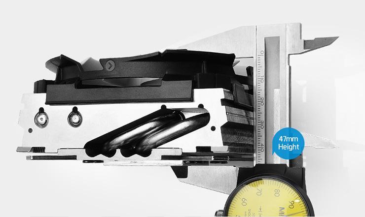 Обзор процессорного кулера SilverStone Argon AR11. Агент 47