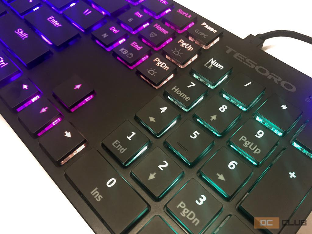 Обзор игровой механической клавиатуры Tesoro GRAM XS. Для тех, кто слишком привык к ноутбуку.
