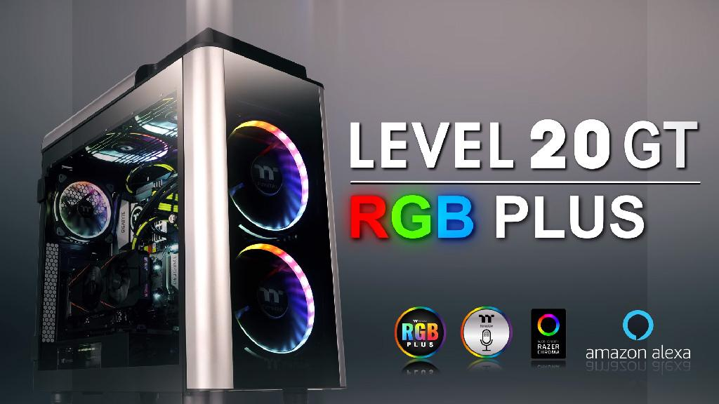 Thermaltake выпускает корпуса Level 20 GT RGB Plus Edition и Level 20 GT Edition