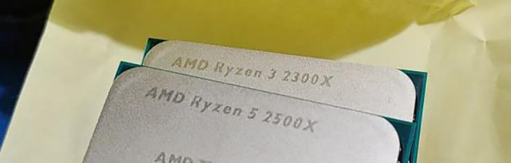 AMD выпустила четыре новых процессора Ryzen: 2700E, 2600E, 2500X и 2300X