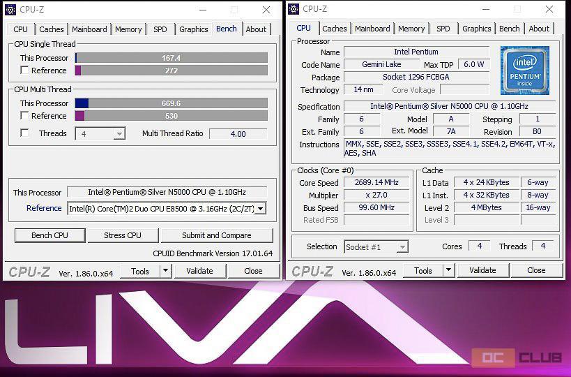 Обзор мини-ПК ECS Liva Z2. 0,8 литра Word, Excel и YouTube