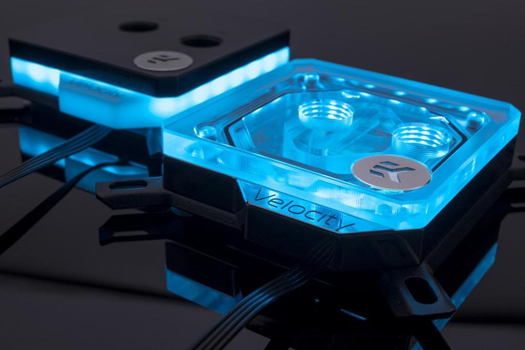 EKWB EK-Velocity – новое поколение CPU-водоблоков от словенского производителя