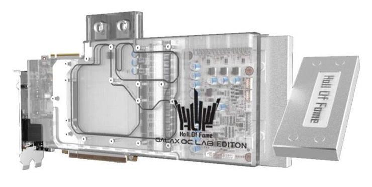 Galax GeForce RTX 2080 Ti HOF OC Lab WC Edition – самая дорогая видеокарта с самым длинным названием