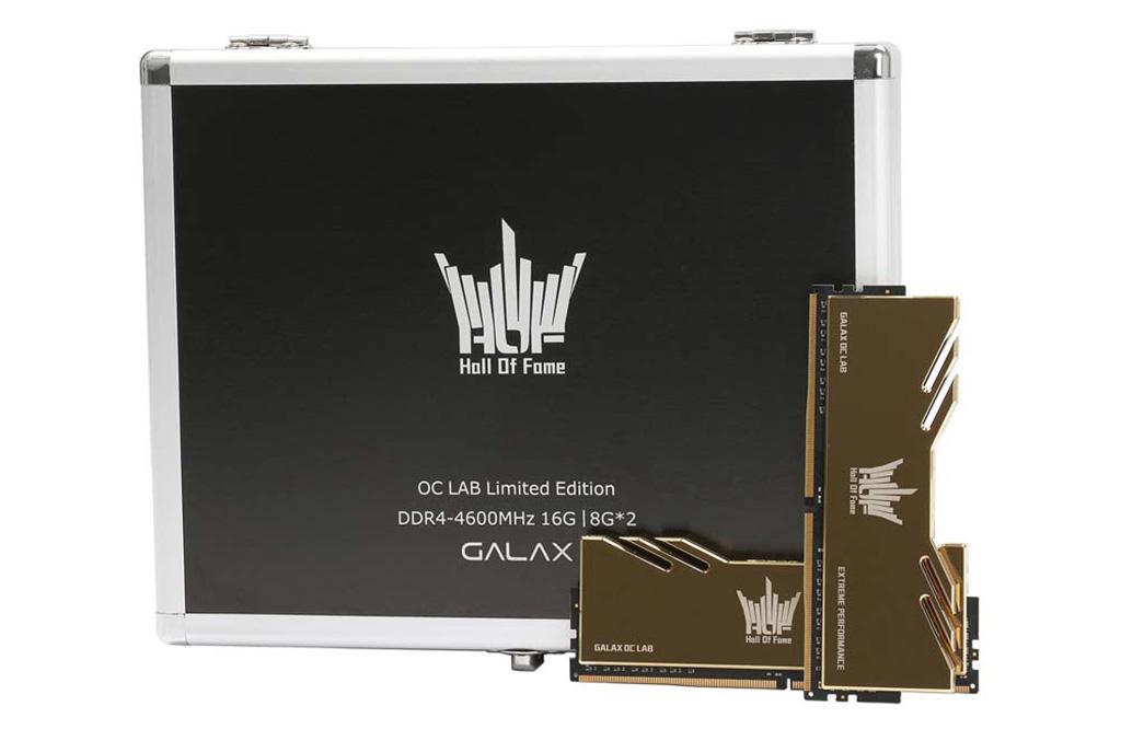 Galax предлагает комплекты ОЗУ HOF Extreme OC Lab Edition DDR4-4600 с позолоченными радиаторами