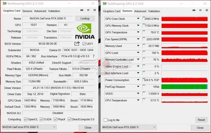Опубликованы первые обзоры видеокарт GeForce RTX 2080 и RTX 2080 Ti