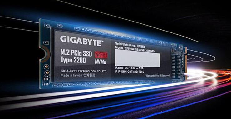 Gigabyte дебютирует на рынке M.2 NVMe-накопителей