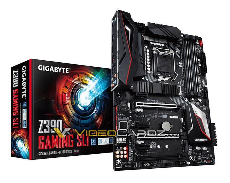 Gigabyte готовит материнскую плату Z390 Gaming SLI
