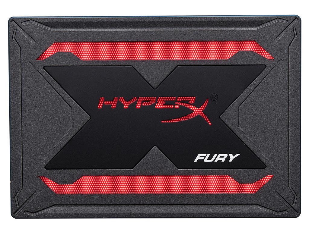HyperX Fury RGB SSD – второй по счету SSD-накопитель с RGB-подсветкой