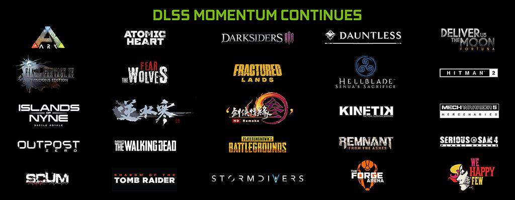 Ещё 9 игр обзавелись поддержкой NVIDIA DLSS. Теперь их 25