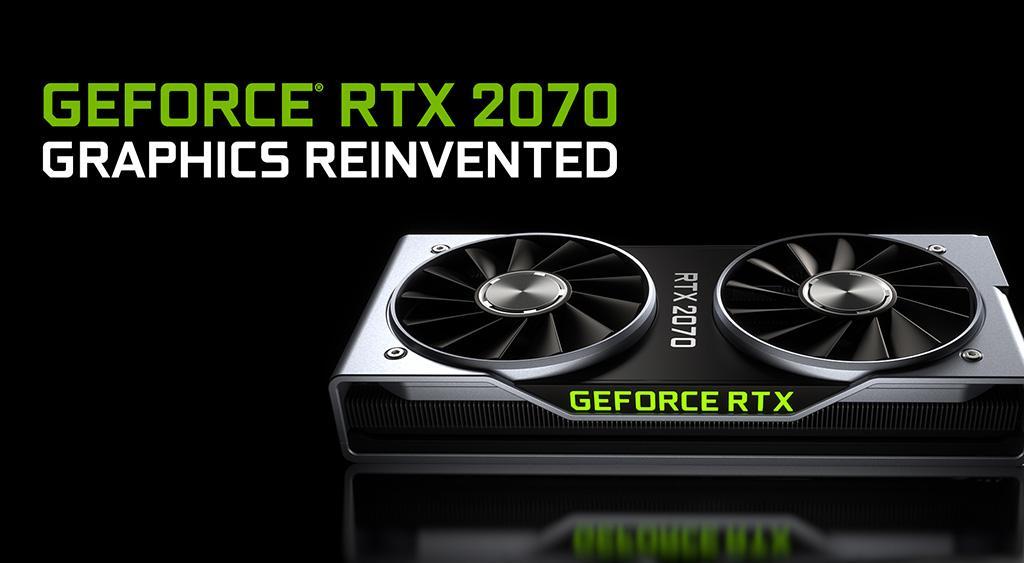 NVIDIA: GeForce RTX 2070 будет доступна 17 октября. Цены от $500