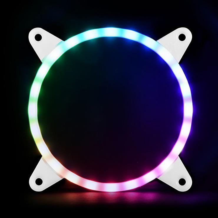 Обзор аксессуаров SilverStone для организации ARGB-подсветки. Контроллер LSB02 и накладные кольца FG122