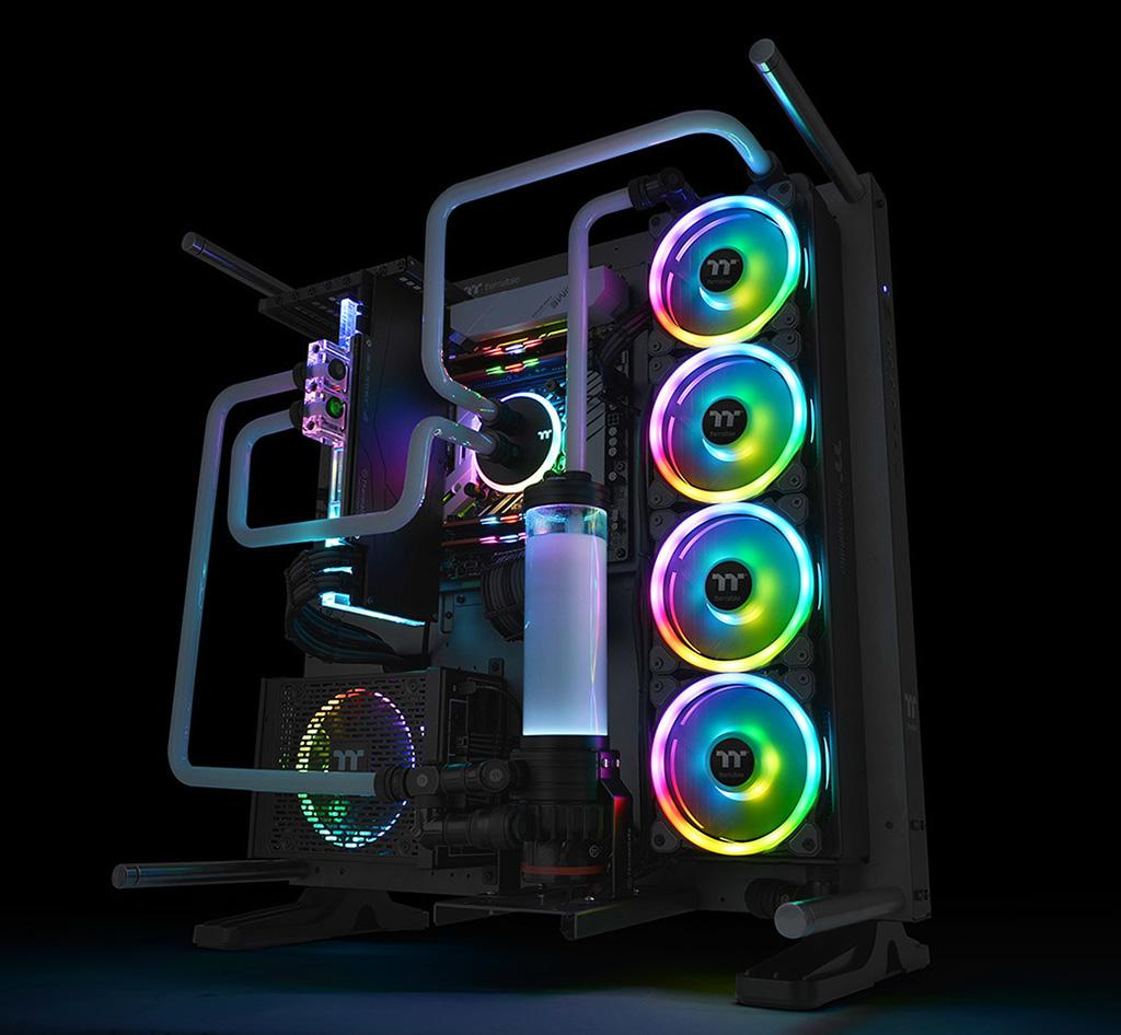 Thermaltake Riing Trio 14 RGB – вентиляторы с тройной ARGB-подсветкой