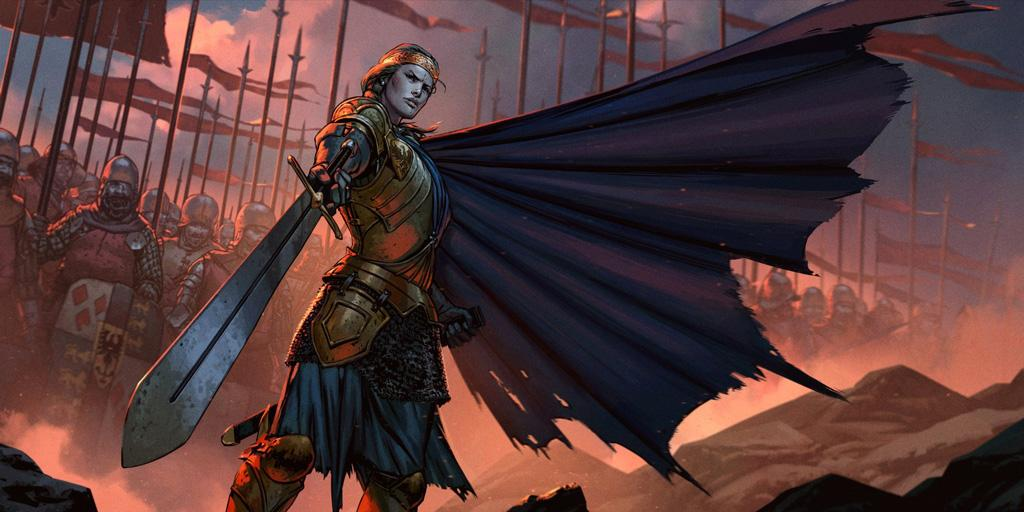 Thronebreaker: The Witcher Tales выходит на ПК в следующем месяце