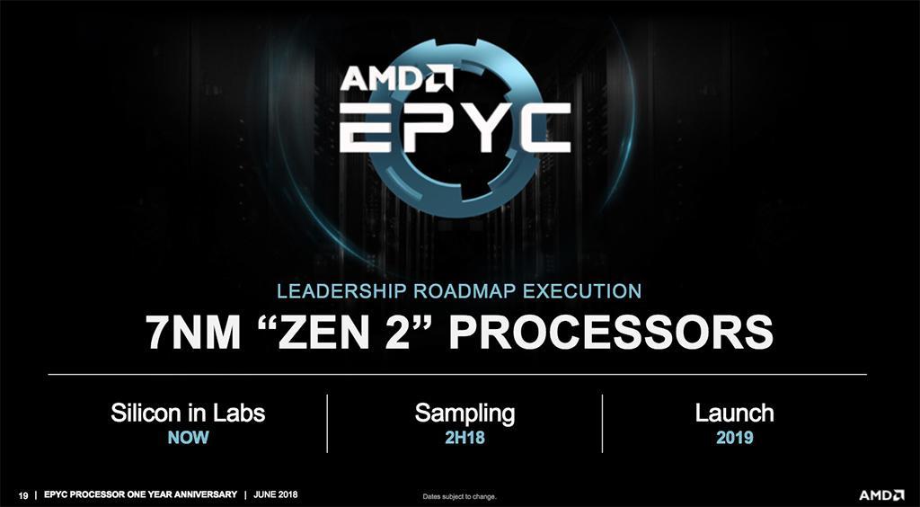 AMD что-то расскажет про 7 нм продукцию в начале ноября