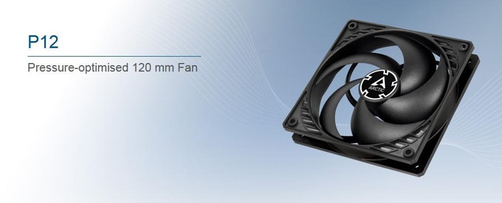 Arctic P-Fan – линейка из 12 моделей вентиляторов от швейцарского производителя