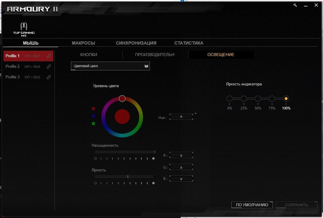 Обзор мыши ASUS TUF Gaming M5. Типа надёжность