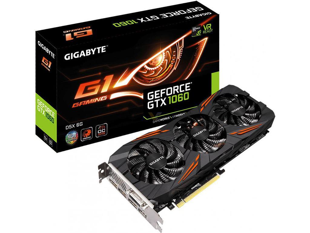 Gigabyte готовит GeForce GTX 1060 G1 Gaming c памятью GDDR5X