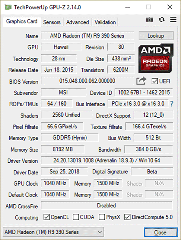 Утилита GPU-Z 2.14.0 доступна к загрузке