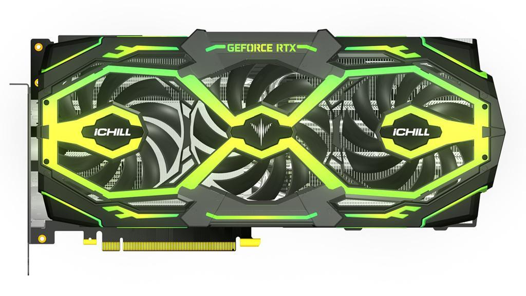 Видеокарта Inno3D GeForce RTX 2080 (Ti) iChill Frostbite получила максимум RGB-подсветки