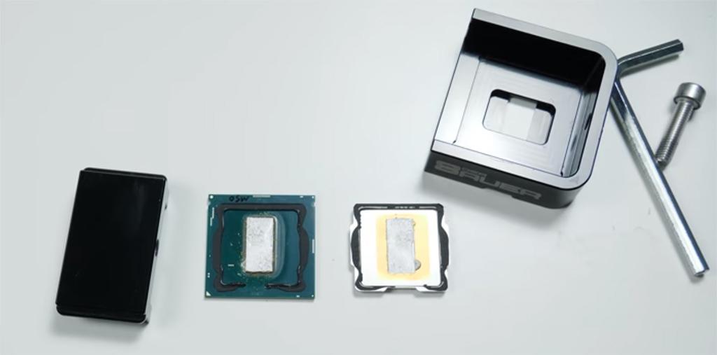 Насколько хорош припой у процессоров Intel Coffee Lake Refresh?