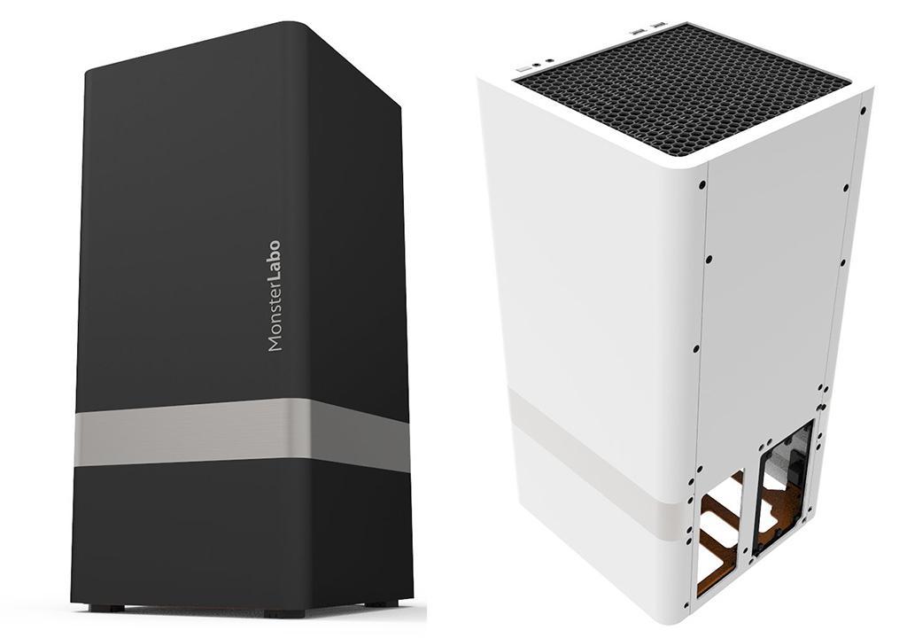 Корпус MonsterLabo The First способен пассивно охладить Core i7-8700K и GTX 1080