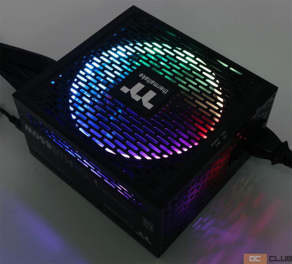 Обзор блока питания Thermaltake Toughpower iRGB PLUS 850W Platinum. Второстепенных деталей нет