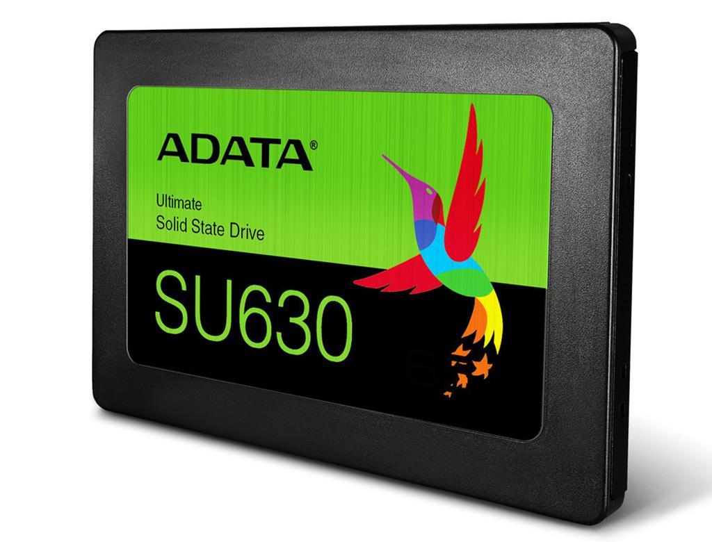 ADATA Ultimate SU630 – второй в общем зачёте, и первый потребительский SSD на QLC-памяти