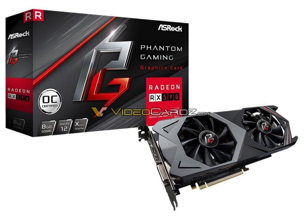 """ASRock Radeon RX 590 Phantom Gaming X OC – первая видеокарта от ASRock """"вовремя"""""""