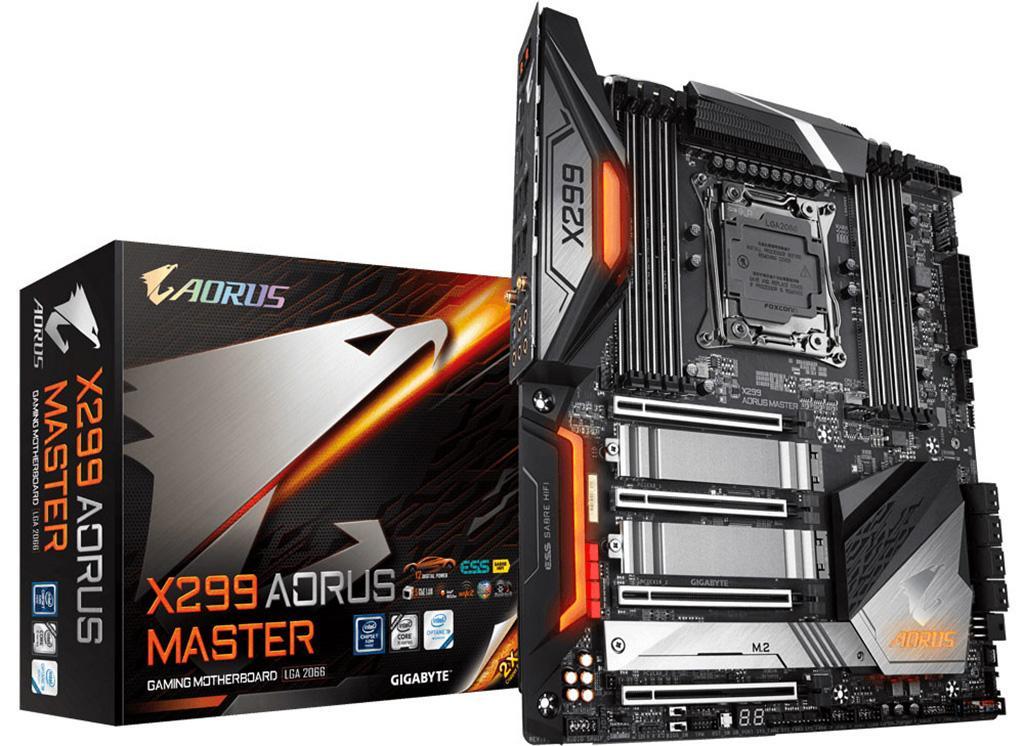 Gigabyte анонсирует материнскую плату X299 Aorus Master