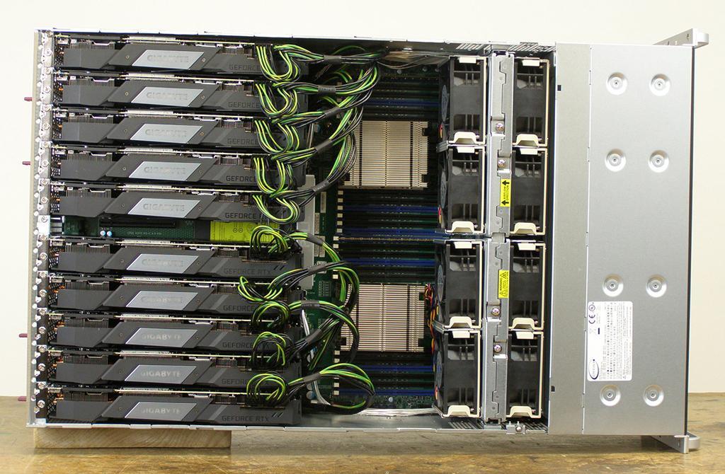 10x GeForce RTX 2080 Ti обновили абсолютный мировой рекорд в GPUPI 1B