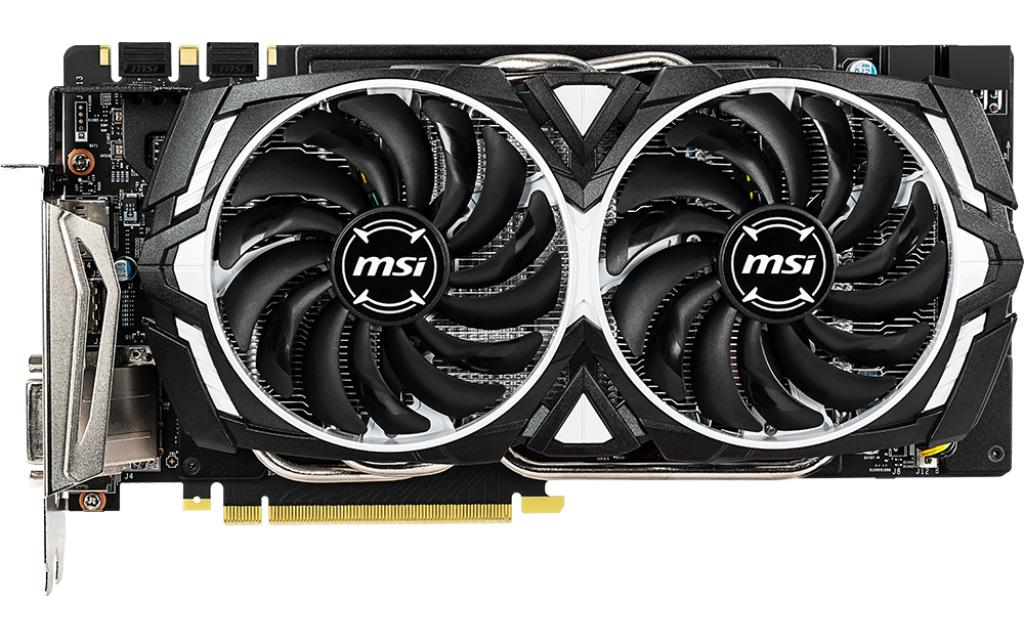 MSI по-тихому выпустила видеокарту GeForce GTX 1060 Armor 6GD5X OC