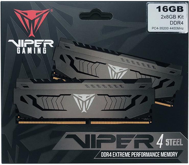 Patriot Viper 4 Steel DDR4 – бодрая ОЗУ без RGB-подсветки