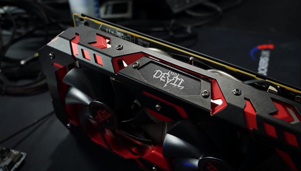 Radeon RX 590 и разгон